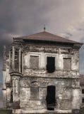 Verlaten ruïnes van een kasteel in Transsylvanië, Boncida, Roemenië Royalty-vrije Stock Afbeeldingen