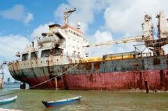 Verlaten schip Stock Fotografie