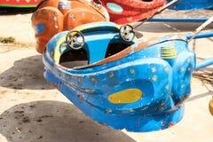 Verlaten speelplaats Stock Fotografie