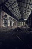 Verlaten speen Verenigde Fabriek - Youngstown, Ohio royalty-vrije stock afbeelding