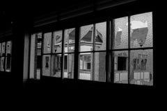Verlaten spookhuis Stock Afbeeldingen