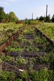Verlaten spoorweg Stock Fotografie