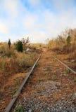 Verlaten Sporen Stock Fotografie