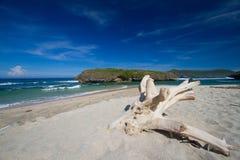 Verlaten strand Stock Fotografie