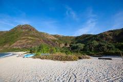 Verlaten strand stock foto