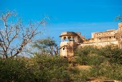 Verlaten Taragarh-Fort Stock Fotografie