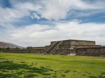 Verlaten Teotihuacan-stad, Mexico stock afbeeldingen