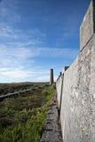 Verlaten Tin Mine, Cornwall stock afbeeldingen