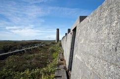 Verlaten Tin Mine, Cornwall Royalty-vrije Stock Fotografie