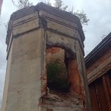 Verlaten toren Stock Foto's