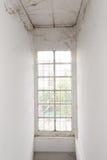 Verlaten venster Royalty-vrije Stock Afbeeldingen