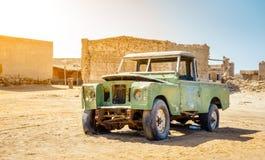 Verlaten visserijdorp in Ras Al Khaimah royalty-vrije stock fotografie