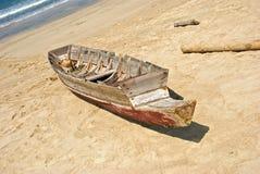 Verlaten vissersboot Royalty-vrije Stock Foto