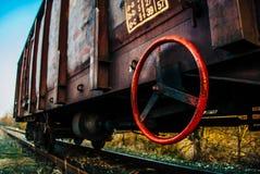 Verlaten Wagen Royalty-vrije Stock Foto's