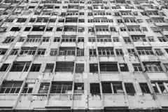 Verlaten Woningbouw stock fotografie