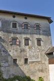 Verlaufenes Schloss, Slowenien Lizenzfreie Stockfotos
