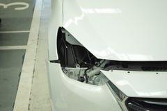 Verlegenheit ligth Autohintergrund Für Automobilautomobil- oder Transportbild stockbilder