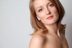 Verleidelijke Blond Stock Foto's