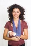 Verletzte Hand Lizenzfreies Stockfoto