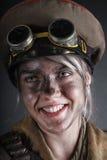 Överlevande för stolpeapokalypskvinnlig Arkivfoton