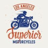 Överlägsen motorcykel 005 Arkivbilder