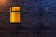 Verlicht venster vector illustratie