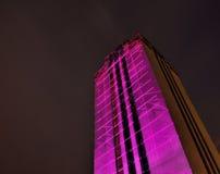 Verlichte boek-toren Royalty-vrije Stock Afbeelding