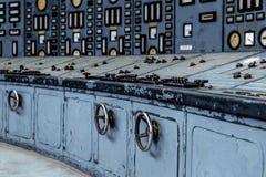 Verlichte controlekamer Royalty-vrije Stock Afbeeldingen