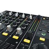 Verlichte de Mixer van DJ Stock Afbeeldingen