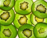 Verlichte de vruchten van de kiwi Royalty-vrije Stock Foto's