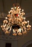 Verlichte kroonluchter Royalty-vrije Stock Afbeelding