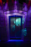 De deur van het stadium Stock Fotografie