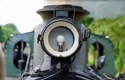 Verlichting van een historische trein royalty-vrije stock afbeelding