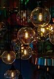 Verlichtingsdecor stock afbeeldingen