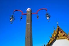 Verlichtingslampen in de tempel royalty-vrije stock foto's