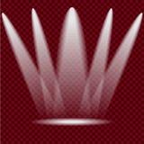 Verlichtingsscènes Royalty-vrije Stock Foto