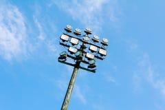 Verlichtingstoren royalty-vrije stock afbeelding