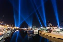Verlichtingsvertoning Hobart Royalty-vrije Stock Afbeelding