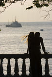 Verliebte Paare Stockfoto