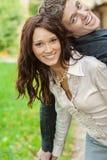 Verliebtes Paar wird gespielt Lizenzfreies Stockbild