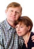 Verliefd paar. Stock Fotografie