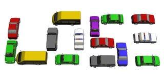 Verlieren Sie Auto Lizenzfreie Stockbilder