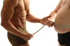 Verlieren Sie Gewicht Lizenzfreies Stockbild