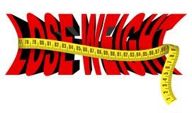 Verlieren Sie Gewicht Stockbild