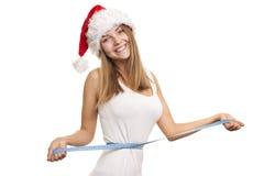 Verlieren Sie Gewicht für den Neujahrsfeiertag Stockfotos