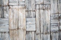 Verlieren Sie herauf gesponnenes Muster der Wand Bambus für Hintergrund Vektorabbildung ENV 10 Lizenzfreies Stockfoto