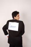 Verlierer - Beachten des Witzes Lizenzfreie Stockbilder
