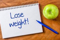 Verlies gewicht royalty-vrije stock afbeelding