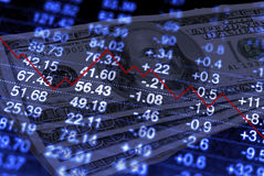 Verliezend Geld Stock Foto