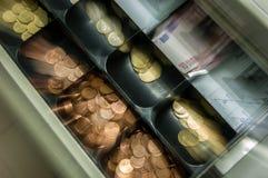 Verliezend Geld stock afbeelding